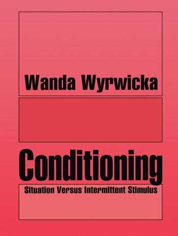 Conditioning Situation Versus Intermittent Stimulus book cover