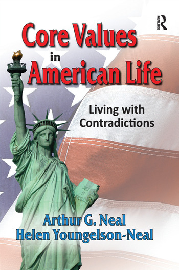 Core Values in American Life Living with Contradictions book cover