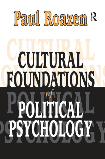 Cultural Foundations of Political Psychology book cover
