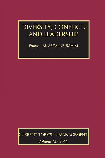 Diversity, Conflict, and Leadership book cover