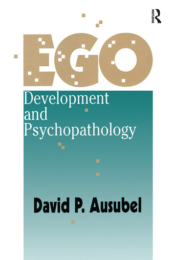 Ego Development and Psychopathology book cover