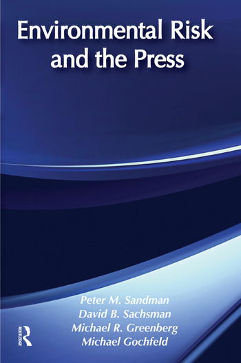 Environmental Risk and the Press book cover