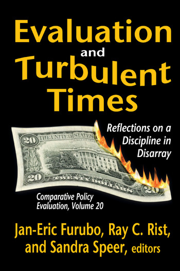 Evaluation and Turbulent Times Reflections on a Discipline in Disarray book cover