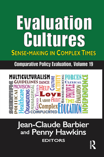 Evaluation Cultures Sense-Making in Complex Times book cover