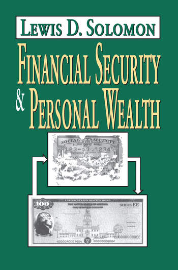 Financial Security and Personal Wealth book cover