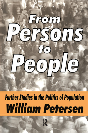 From Persons to People A Second Primer in Demography book cover