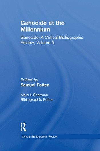 Genocide at the Millennium book cover