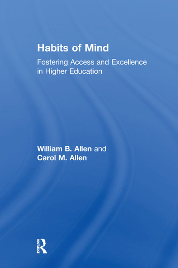 Habits of Mind Fostering Access and Excellence in Higher Education book cover