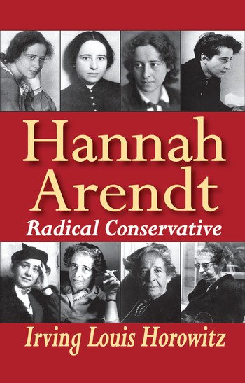 Hannah Arendt Radical Conservative book cover