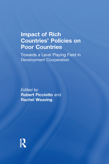 Impact of Rich Countries' Policies on Poor Countries Towards a Level Playing Field in Development Cooperation book cover