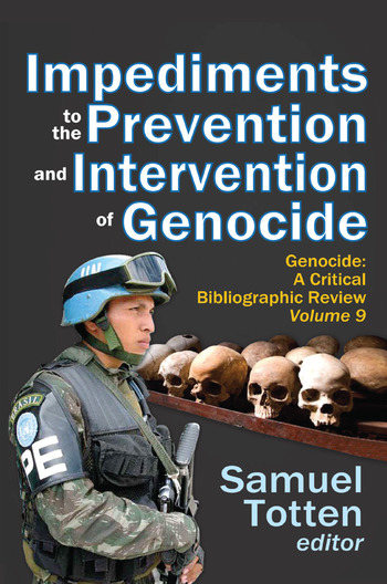 Impediments to the Prevention and Intervention of Genocide book cover
