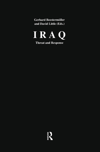 Iraq Threat and Response book cover