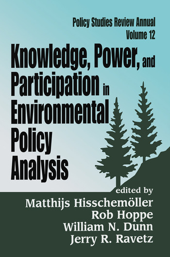 Knowledge, Power, and Participation in Environmental Policy Analysis book cover