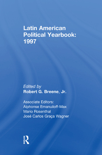 Latin American Political Yearbook 1997 book cover