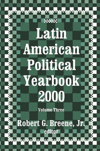 Latin American Political Yearbook 1999 book cover