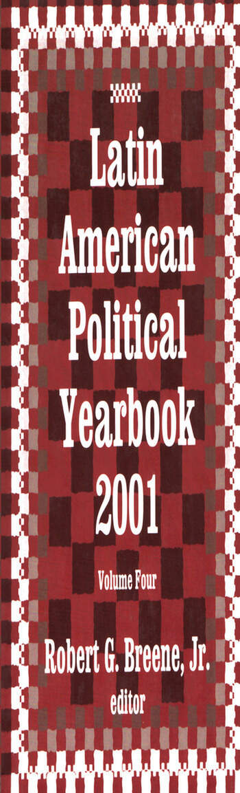 Latin American Political Yearbook 2001 book cover