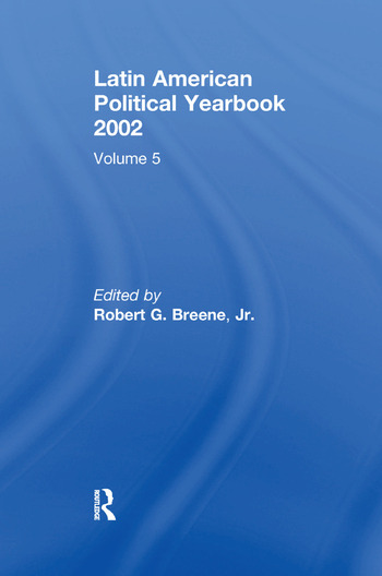 Latin American Political Yearbook 2002 book cover