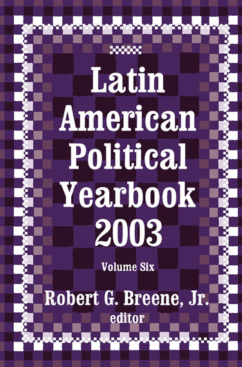 Latin American Political Yearbook 2003 book cover