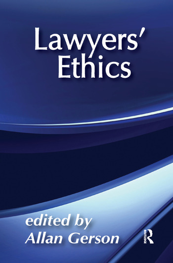 Lawyers' Ethics book cover