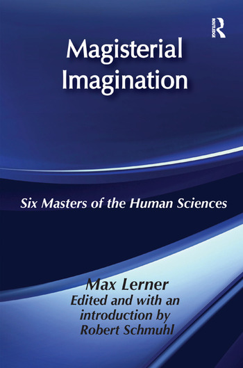 Magisterial Imagination Six Masters of the Human Science book cover