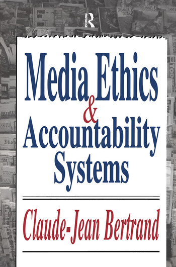 Media Ethics and Accountability Systems book cover