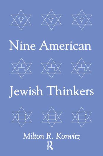 Nine American Jewish Thinkers book cover