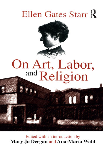 On Art, Labor, and Religion book cover