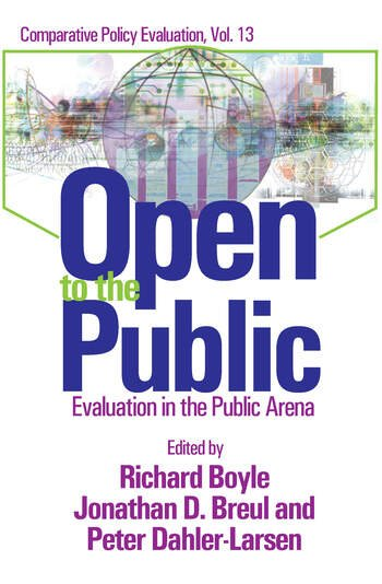 Open to the Public Evaluation in the Public Sector book cover