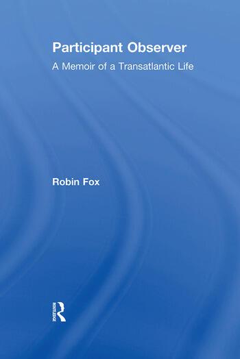 Participant Observer A Memoir of a Transatlantic Life book cover