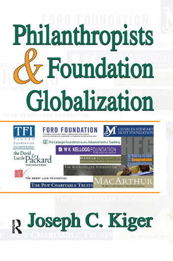 Philanthropists and Foundation Globalization book cover