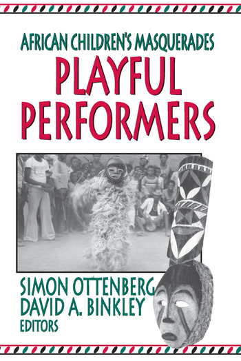 Playful Performers African Children's Masquerades book cover