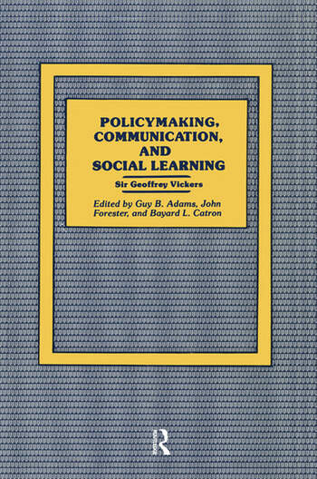 Policymaking, Communication, and Social Learning book cover