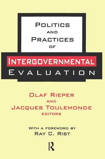 Politics and Practices of Intergovernmental Evaluation book cover