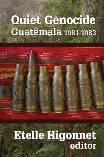Quiet Genocide Guatemala 1981-1983 book cover