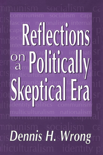 Reflections on a Politically Skeptical Era book cover