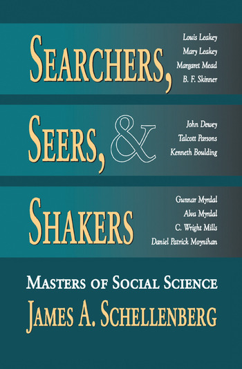 Searchers, Seers, and Shakers Masters of Social Science book cover