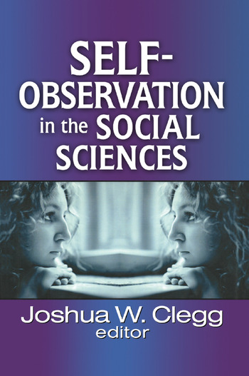 Self-Observation in the Social Sciences book cover