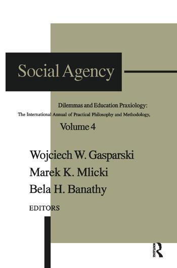 Social Agency Dilemmas and Education book cover