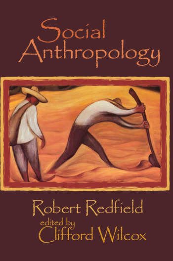 Social Anthropology Robert Redfield book cover