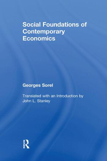 Social Foundations of Contemporary Economics book cover