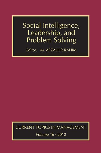Social Intelligence, Leadership, and Problem Solving book cover