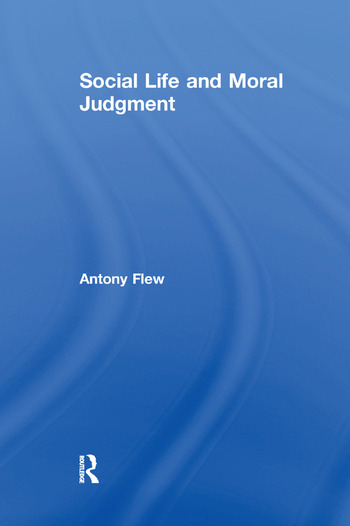 Social Life and Moral Judgment book cover