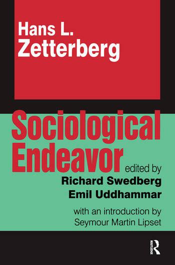 Sociological Endeavor book cover