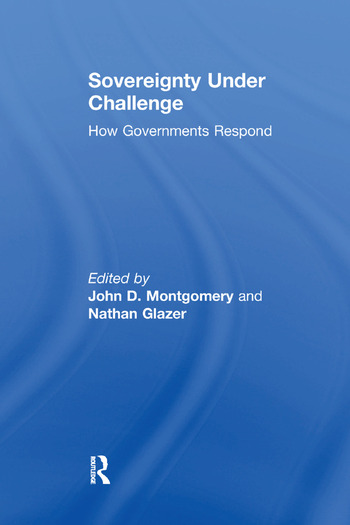 Sovereignty Under Challenge How Governments Respond book cover