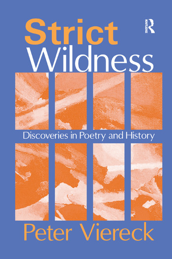 Strict Wildness Discoveries in Poetry and History book cover