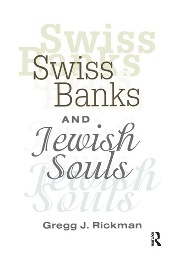 Swiss Banks and Jewish Souls book cover