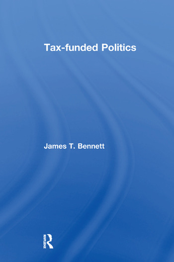 Tax-funded Politics book cover