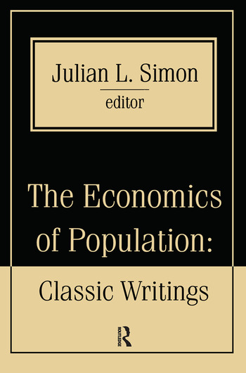 The Economics of Population Key Classic Writings book cover