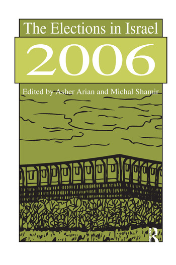 The Elections in Israel 2006 book cover