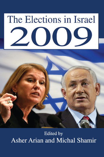 The Elections in Israel 2009 book cover
